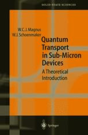 Quantum Transport in Submicron Devices