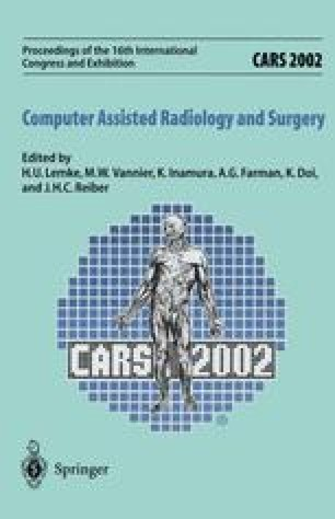 CARS 2002 Computer Assisted Radiology and Surgery