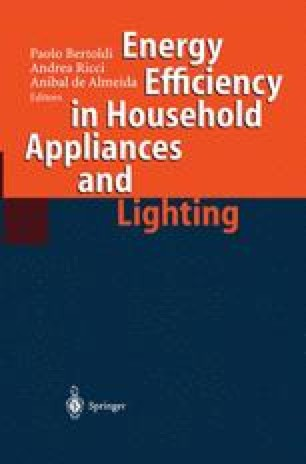 Energy Efficiency in Household Appliances and Lighting