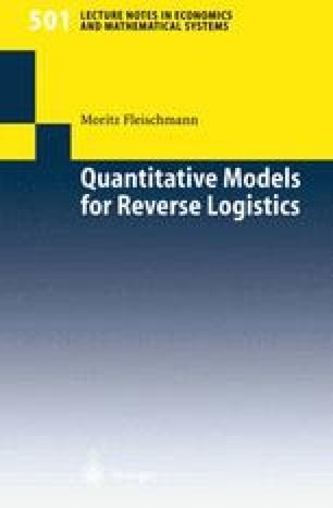 Quantitative Models for Reverse Logistics