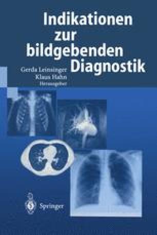 Indikationen zur bildgebenden Diagnostik