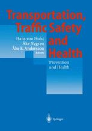 Transportation, Traffic Safety and Health — Prevention and Health