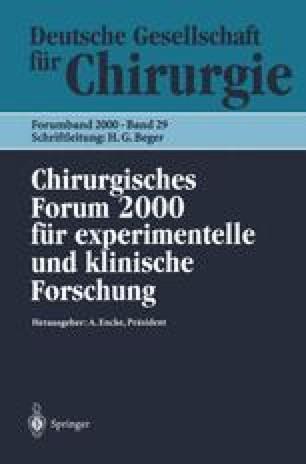 Chirurgisches Forum 2000 für experimentelle und klinische Forschung