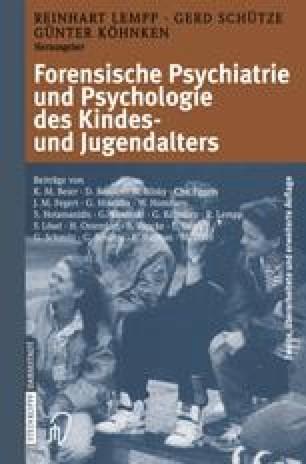 Forensische Psychiatrie und Psychologie des Kindes- und Jugendalters