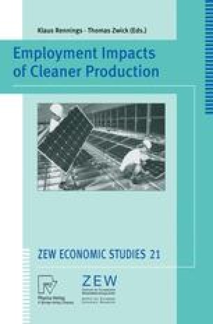 Employment Impacts of Cleaner Production