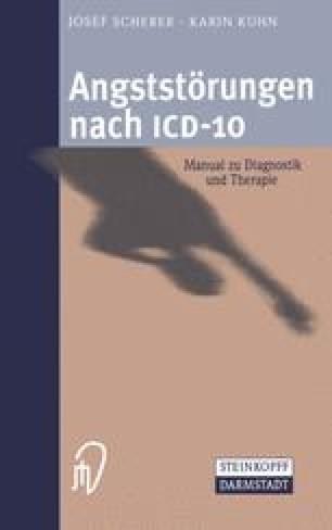 Angststörungen nach ICD-10