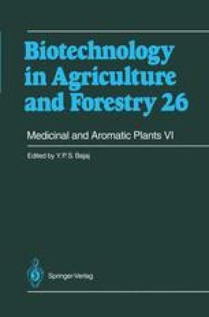 Medicinal and Aromatic Plants VI