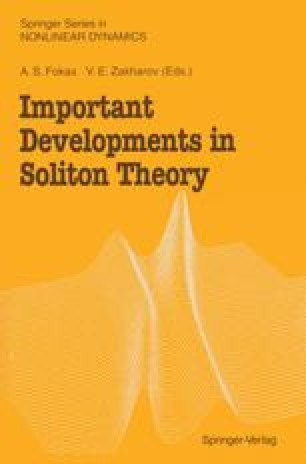 Important Developments in Soliton Theory