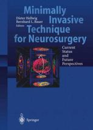 Minimally Invasive Techniques for Neurosurgery