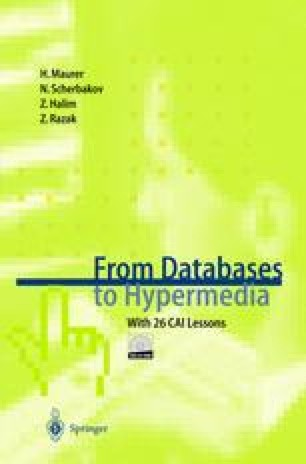From Databases to Hypermedia