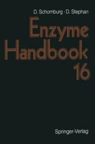 Enzyme Handbook 16