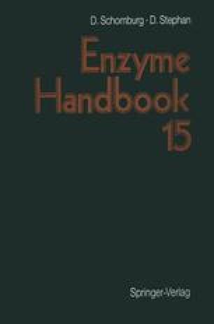 Enzyme Handbook 15