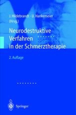 Chemische Neurolyse des Plexus coeliacus | SpringerLink