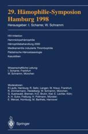 29. Hämophilie-Symposion