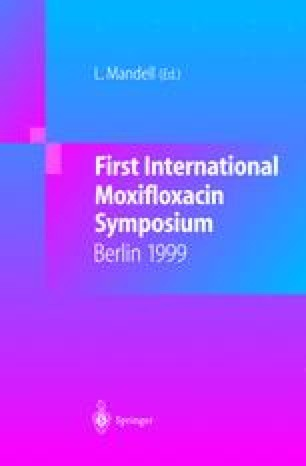 First International Moxifloxacin Symposium
