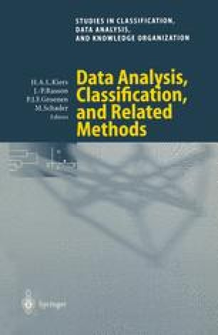 Data Analysis, Classification, and Related Methods