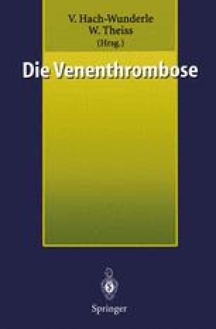 Die Venenthrombose