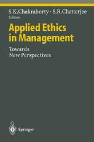 Applied Ethics in Management
