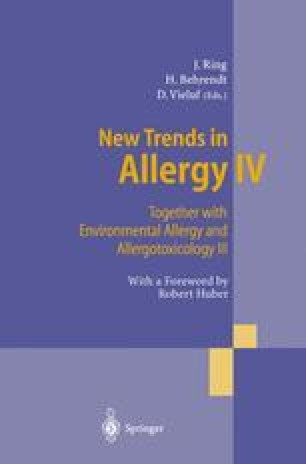 New Trends in Allergy IV