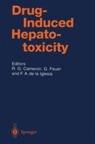 Drug-Induced Hepatotoxicity