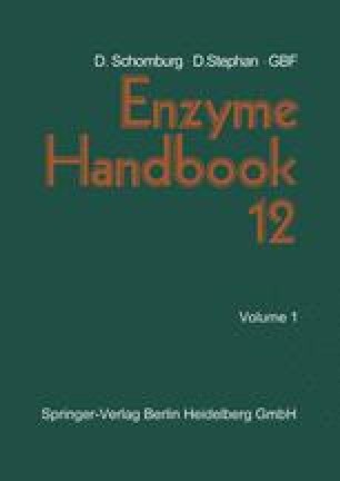 Enzyme Handbook 12
