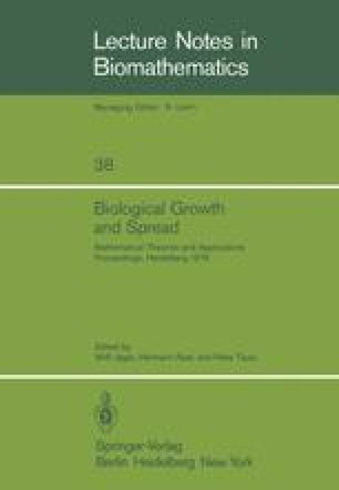 Biological Growth and Spread