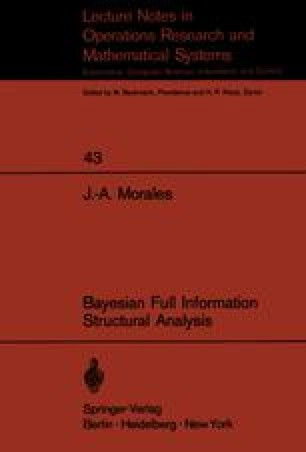 Bayesian Full Information Structural Analysis