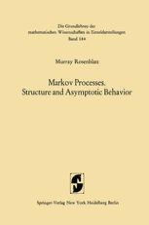 Markov Processes. Structure and Asymptotic Behavior