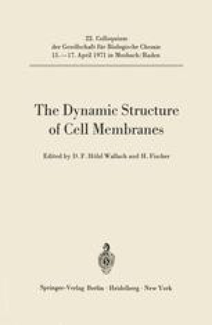 The Dynamic Structure of Cell Membranes