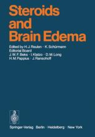 Steroids and Brain Edema