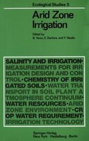 Arid Zone Irrigation