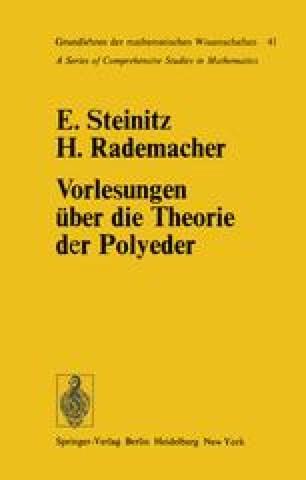 Vorlesungen über die Theorie der Polyeder