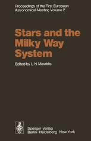 Proceedings of the First European Astronomical Meeting Athens, September 4–9, 1972