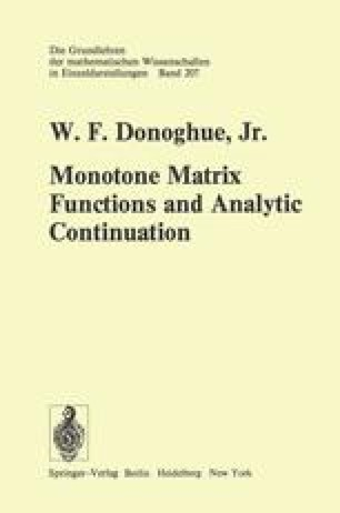 Monotone Matrix Functions and Analytic Continuation