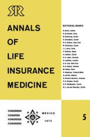 Annals of Life Insurance Medicine 5