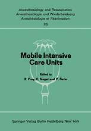 Mobile Intensive Care Units