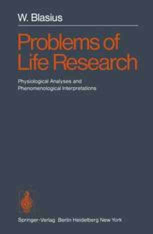 Problems of Life Research
