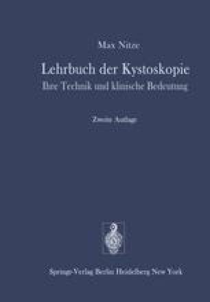 Lehrbuch der Kystoskopie