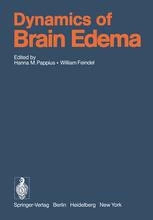 Dynamics of Brain Edema