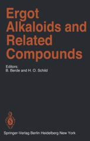 Ergot Alkaloids and Related Compounds