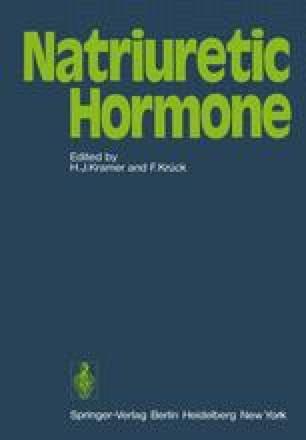Natriuretic Hormone