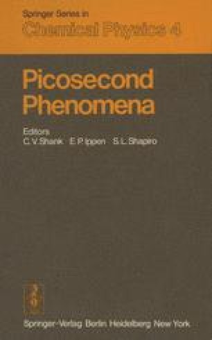 Picosecond Phenomena