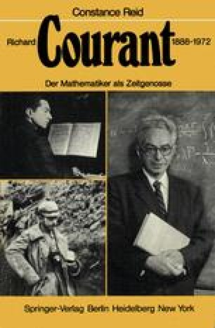 Richard Courant 1888–1972