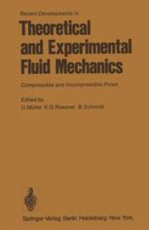 Recent Developments in Theoretical and Experimental Fluid Mechanics