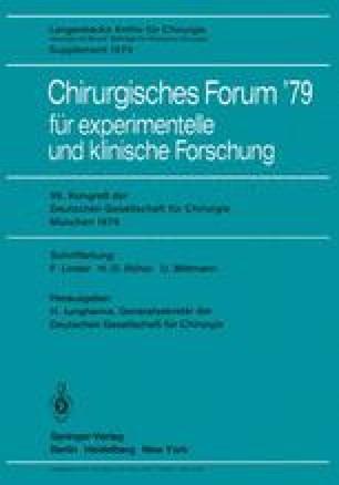 Chirurgisches Forum '79