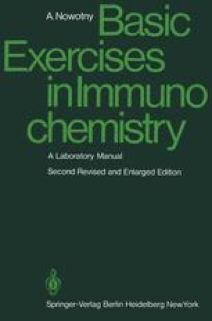 Basic Exercises in Immunochemistry