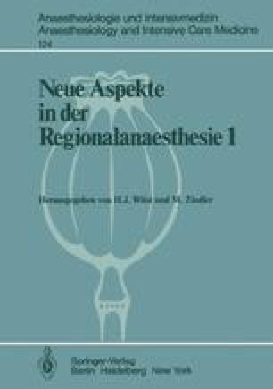 Neue Aspekte in der Regionalanaesthesie 1