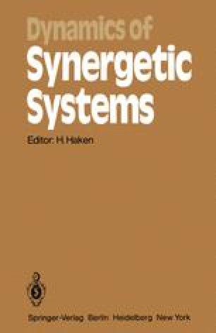 Dynamics of Synergetic Systems