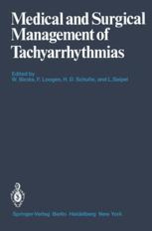 Medical and Surgical Management of Tachyarrhythmias