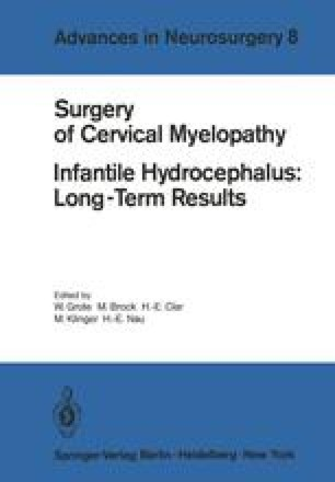 Surgery of Cervical Myelopathy